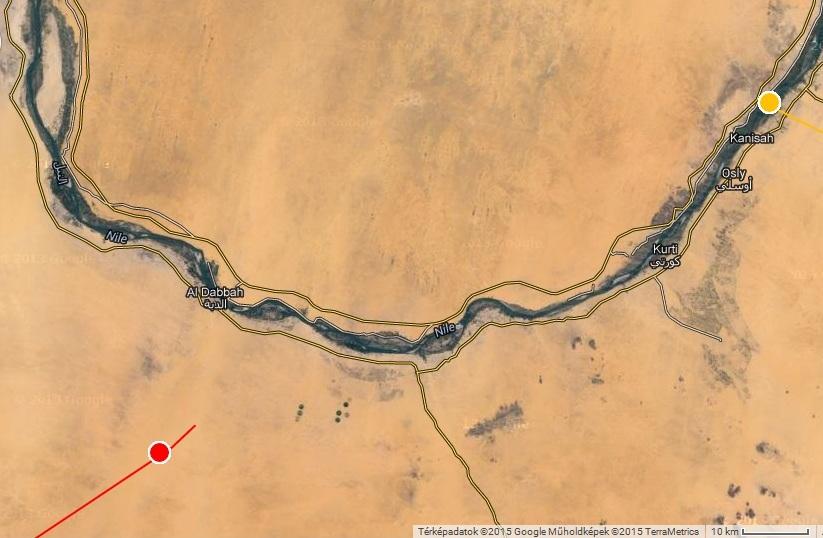 Horka és Natália a Nílus mentén