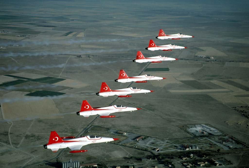 Itt képzés is történik repülésből, de emberek számára (fotó: kerembektaş)
