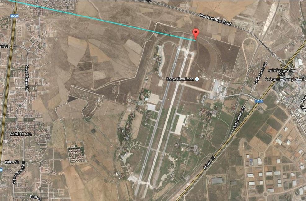 Konyai katonai reptér, ezt is megnézte Varbó a városban