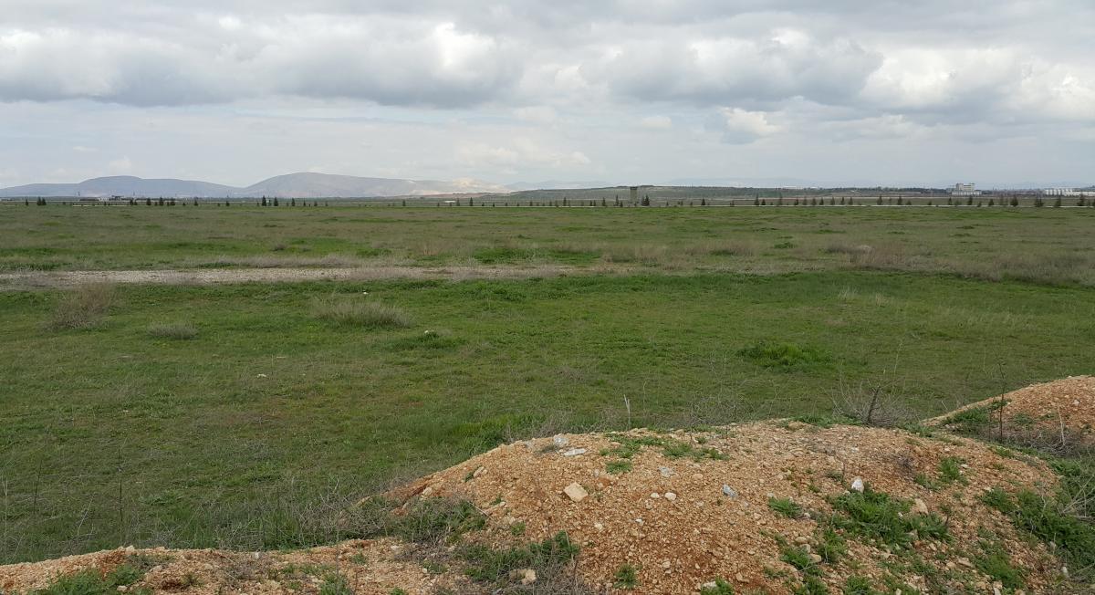 Panorámafotó Varbó megtalálási helyén (fotó: Mutlu Salaman)