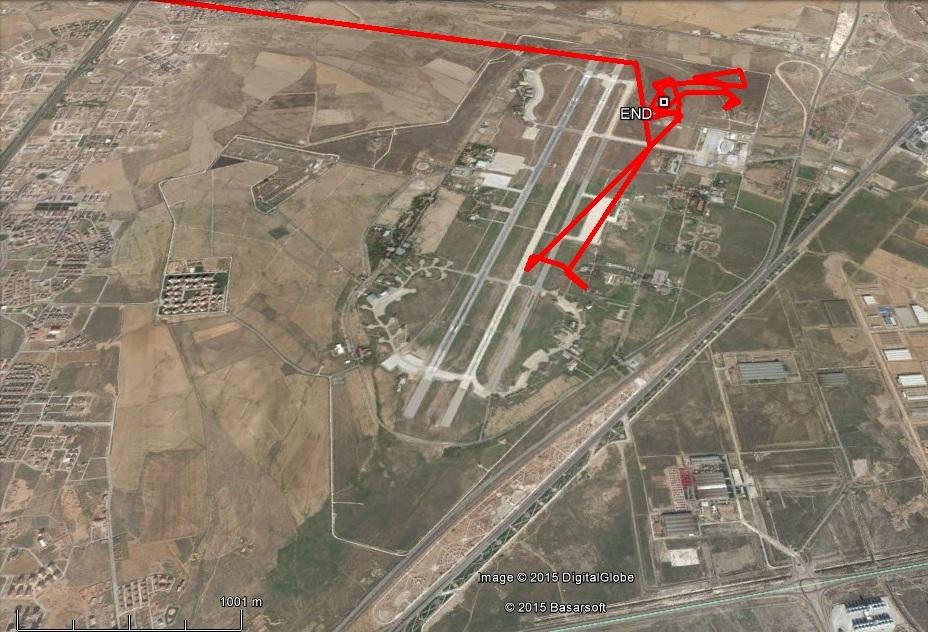 Varbó az elmúlt 3 napban nem mozdult ki a reptér területéről