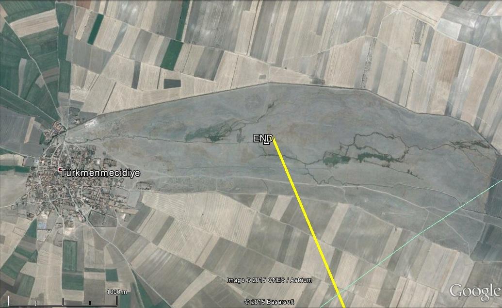 Szállásadó rét a folyó parton, ahol Vecáék megálltak.