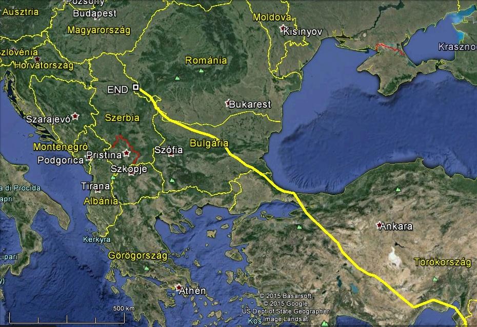 Ipolyvece már közel van, csak 380km, ezt akár egy nap alatt meg lehetne tenni…